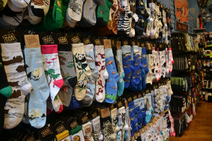 e829b295b2348 A place called the L.A. Sock Market. Geddit? I died.